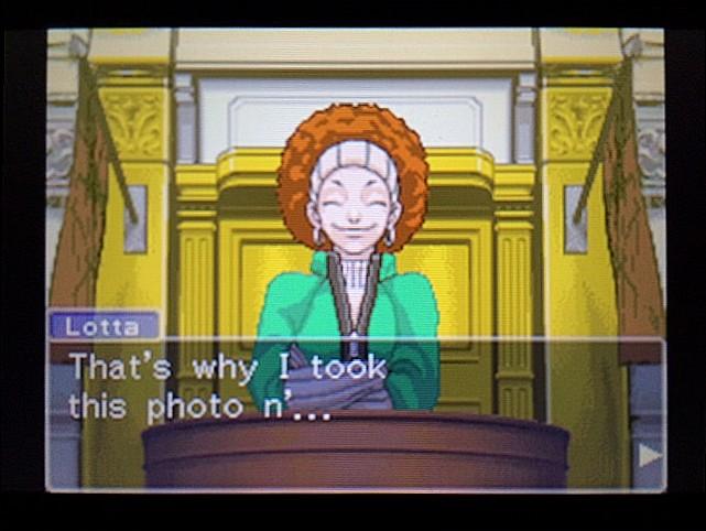 逆転裁判 北米版 写真の拡大はしなかったの?21