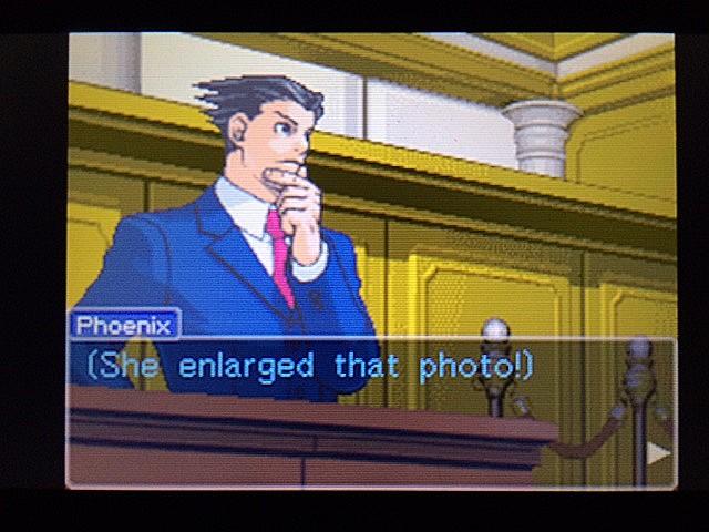 逆転裁判 北米版 写真の拡大はしなかったの?29