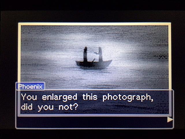 逆転裁判 北米版 写真の拡大はしなかったの?35