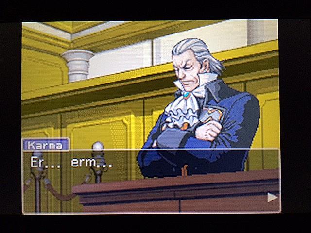 逆転裁判 北米版 拡大写真2