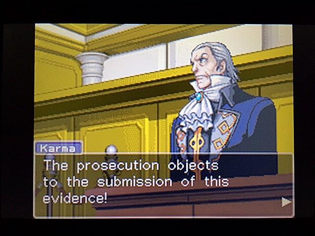 逆転裁判 北米版 拡大写真5
