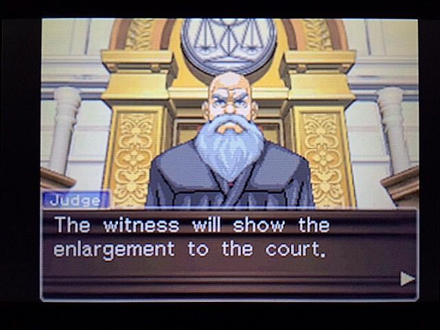 逆転裁判 北米版 拡大写真7