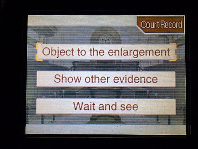 逆転裁判 北米版 拡大写真に写る矛盾2