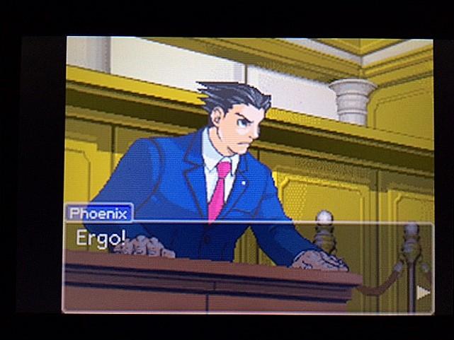 逆転裁判 北米版 拡大写真に写る矛盾23