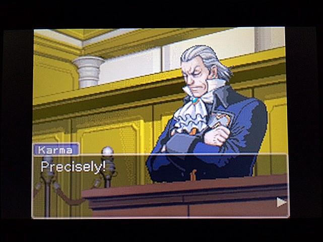 逆転裁判 北米版 左手の写真右手の指紋8