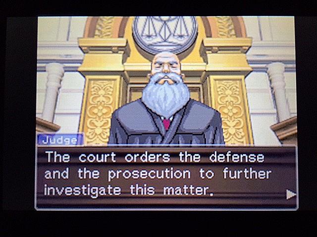 逆転裁判 北米版 左手の写真右手の指紋32