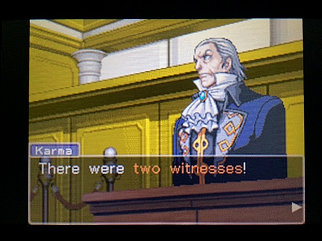 逆転裁判 北米版 ガムシューの語るエッジワースとマヤ17