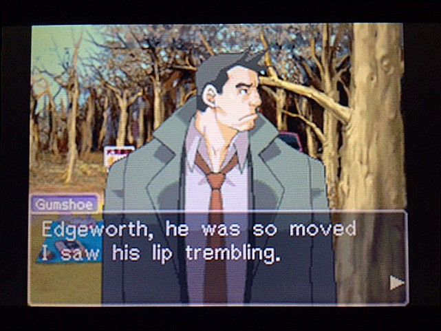 逆転裁判 北米版 ガムシューの語るエッジワースとマヤ40