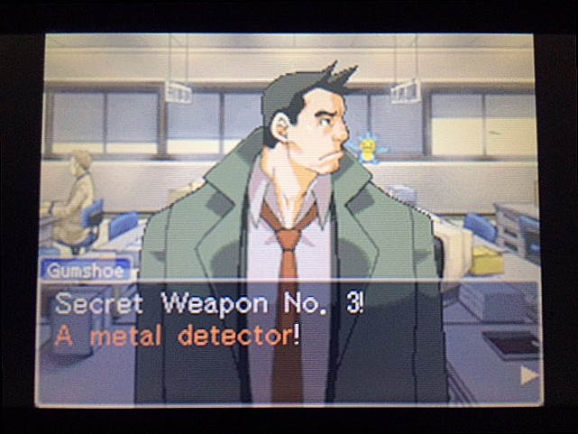 逆転裁判 北米版 ガムシュー刑事の秘密兵器22
