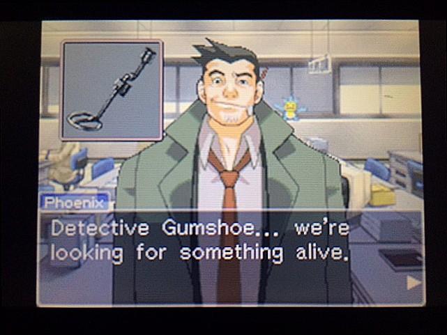 逆転裁判 北米版 ガムシュー刑事の秘密兵器24