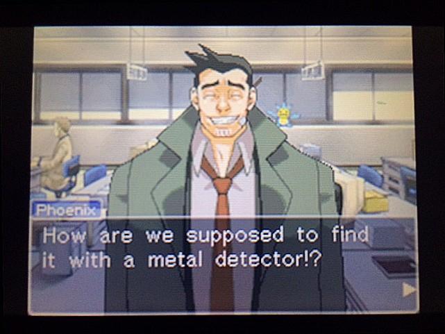 逆転裁判 北米版 ガムシュー刑事の秘密兵器26