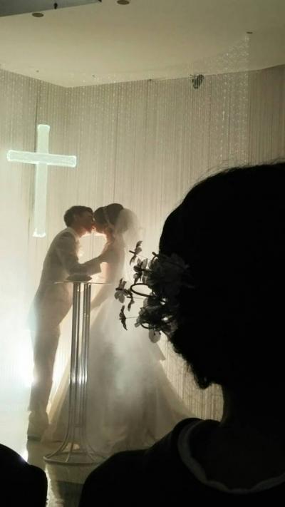 兄の甥っ子の結婚式