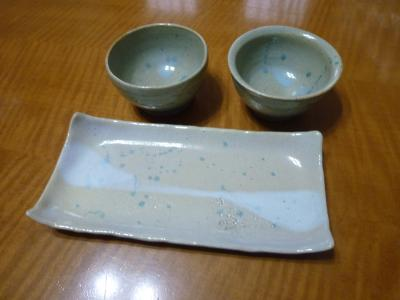 陶芸教室・皿・小鉢