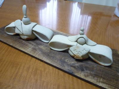 陶芸教室・お雛さま