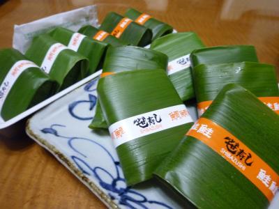 お土産・ます・鯛の寿司