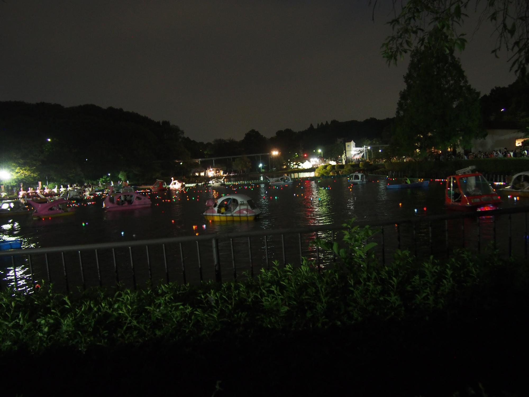 ボート光の池