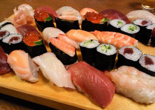お寿司(27.7.29)