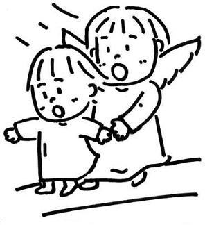 守護天使と