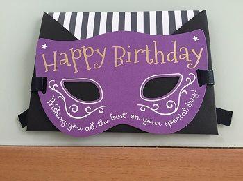 猫の仮面のカード