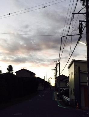 29日夜明け