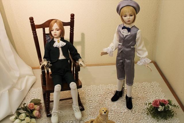 大丸人形展 2015 2人 少年ビスクドール