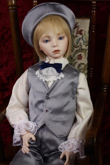 大丸人形展向け新作です。 光 (raito)  美少年ドールを作りたい