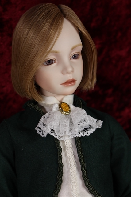 緑のボレロの子 奏風(kanata) 美少年ドールが作りたい