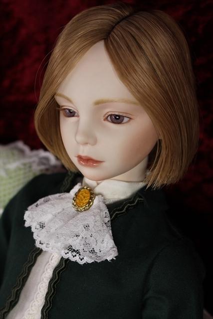緑のボレロの子 奏風(kanata) 美少年ビスクドールを作りたい