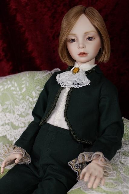 緑色のボレロの子 奏風(kanata) 美少年ドールが作りたい