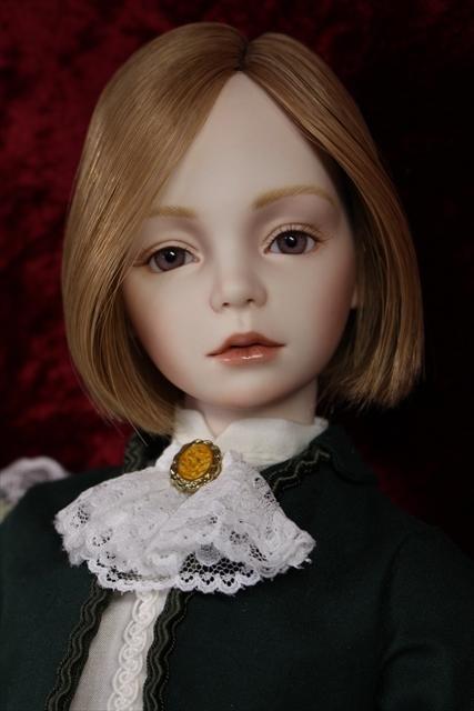 緑色のボレロの子 奏風(kanata) 美少年ビスクドールが作りたい