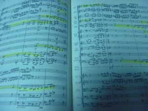 チャイコフスキー序曲1812年スコア