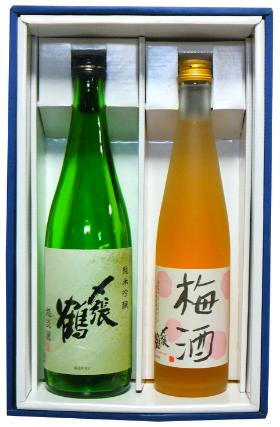 〆越淡麗・梅酒セット