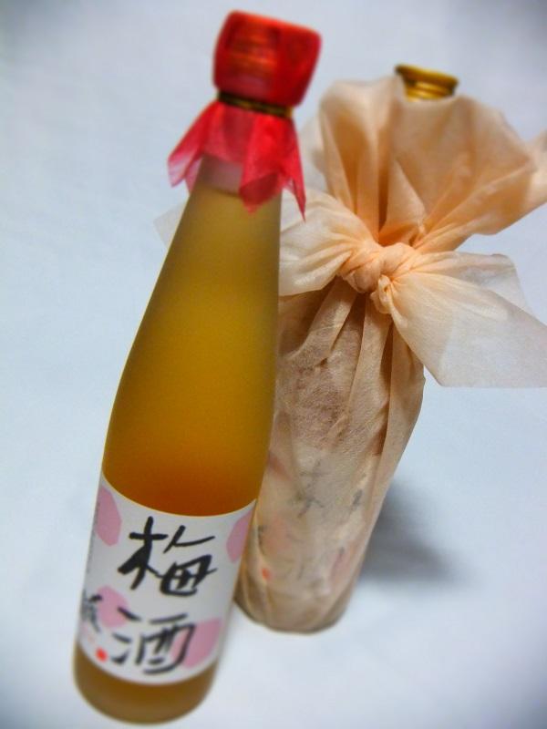〆張 梅酒 ラッピング