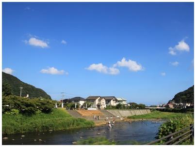 河津川風景3