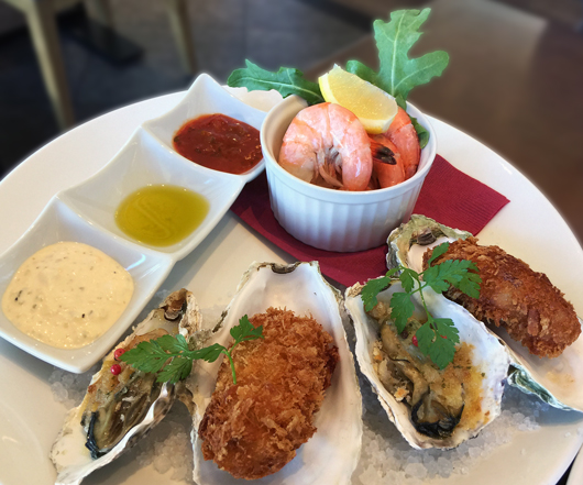 グリルオイスター シュリンプカクテル 広島産大粒牡蠣フライ