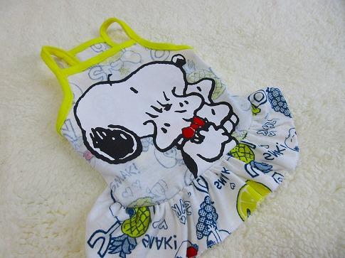 M*mania★リメイク Snoopyキャミワンピ
