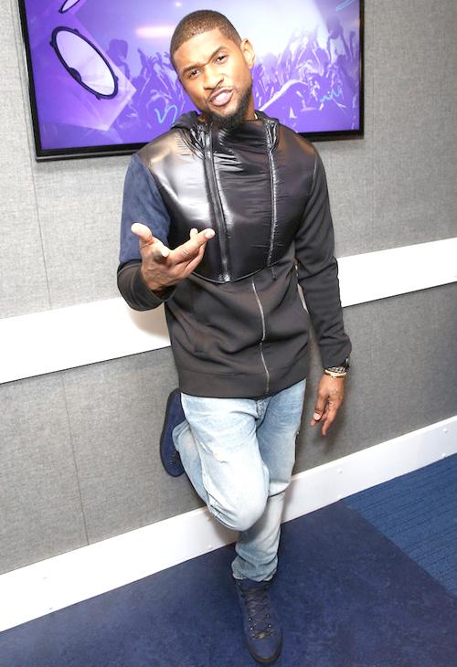 アッシャー(Usher):パイアー・モス(Pyer Moss)バレンシアガ(Balenciaga)