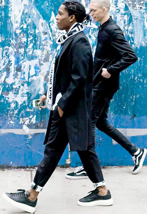 エイサップ・ロッキー(A$AP Rocky):アレキサンダーマックイーン(Alexander McQueen)