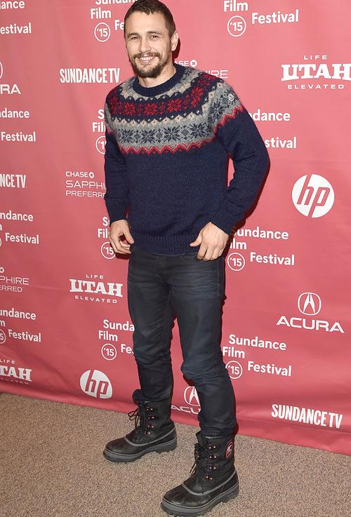 ジェームズ・フランコ(James Franco):モンクレール(MONCLER)