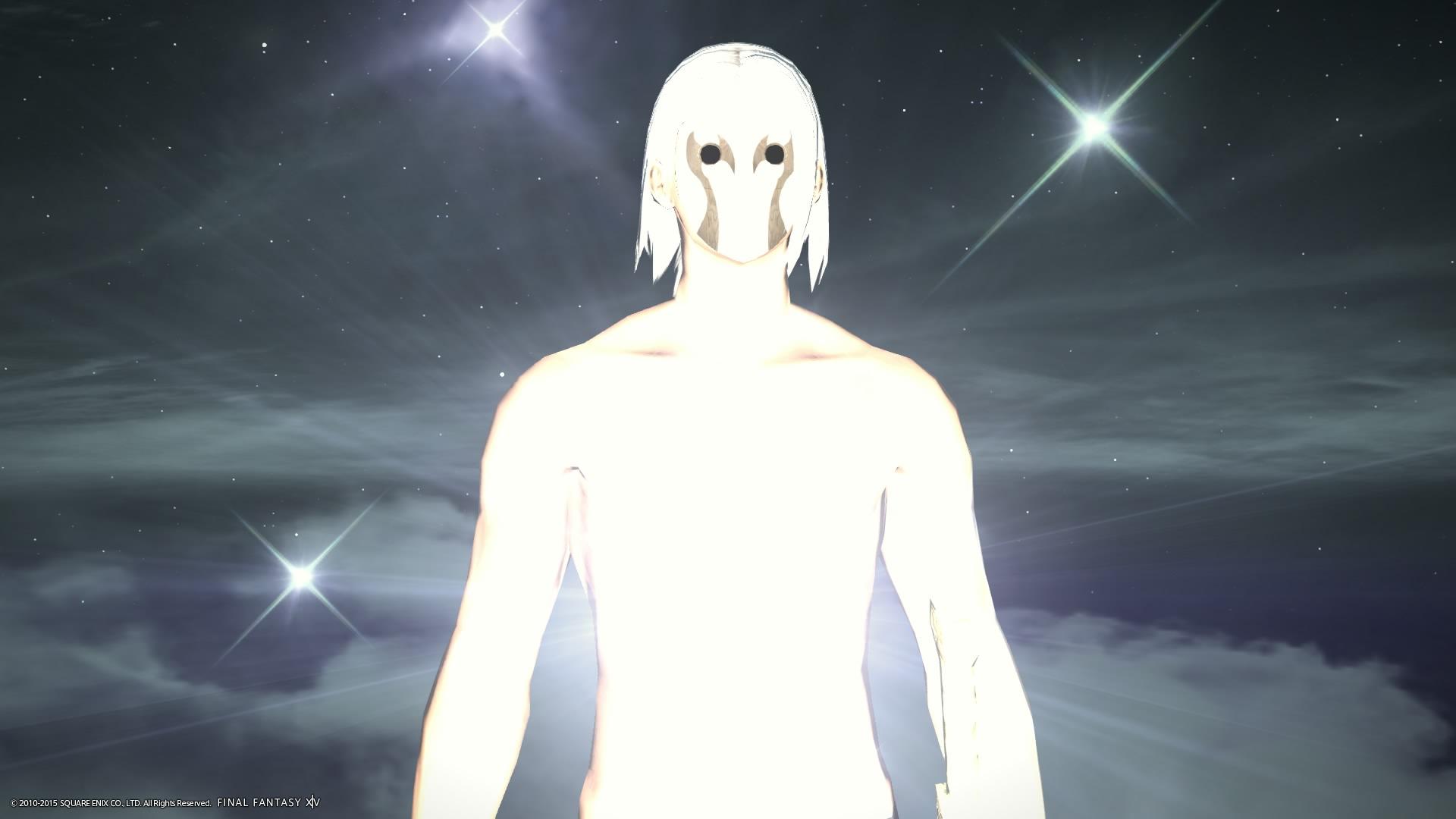 光の仮面の戦士