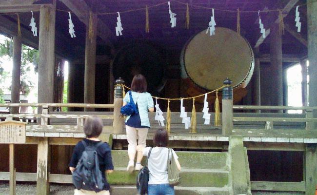 みちびかれツアー in 諏訪大社