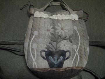パッチワークのバッグ