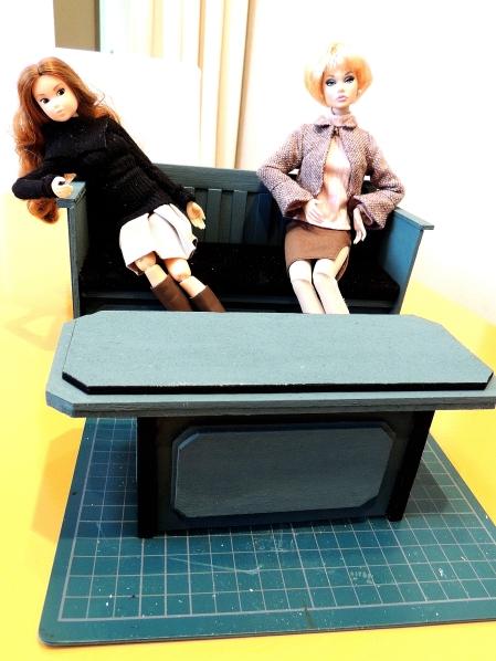 ドール家具製作 (2)