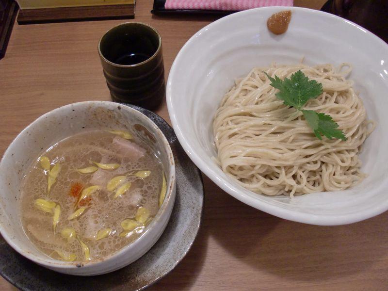 灯花@曙橋・20150726・鯛塩つけ麺