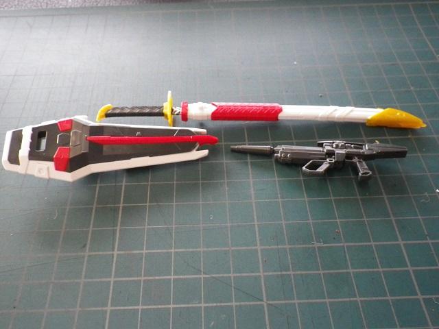 RGアストレイ武器