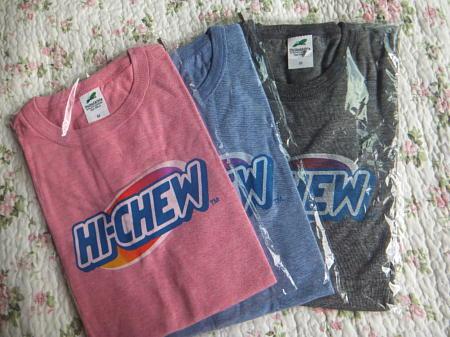 ハイチュウTシャツ