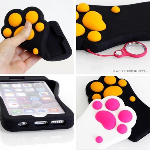 「nikuQ Cat Paw 肉球デザイン iPhone6 ケース」-2