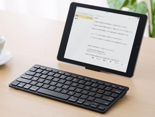 「Bluetoothキーボード(iPhone・iPad・パンタグラフ・小型・アイソレーション) 400-SKB045」-1