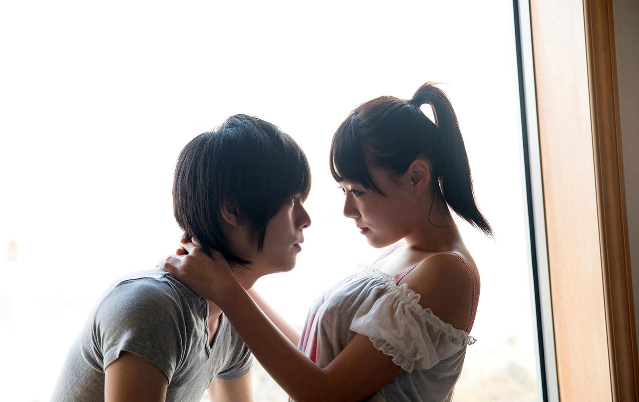 浜崎真緒(はまさきまお) ロリ顔ポニーテール、色白柔らかそうなおっぱいに包まれるセックスAV女優画像 143枚 No.14