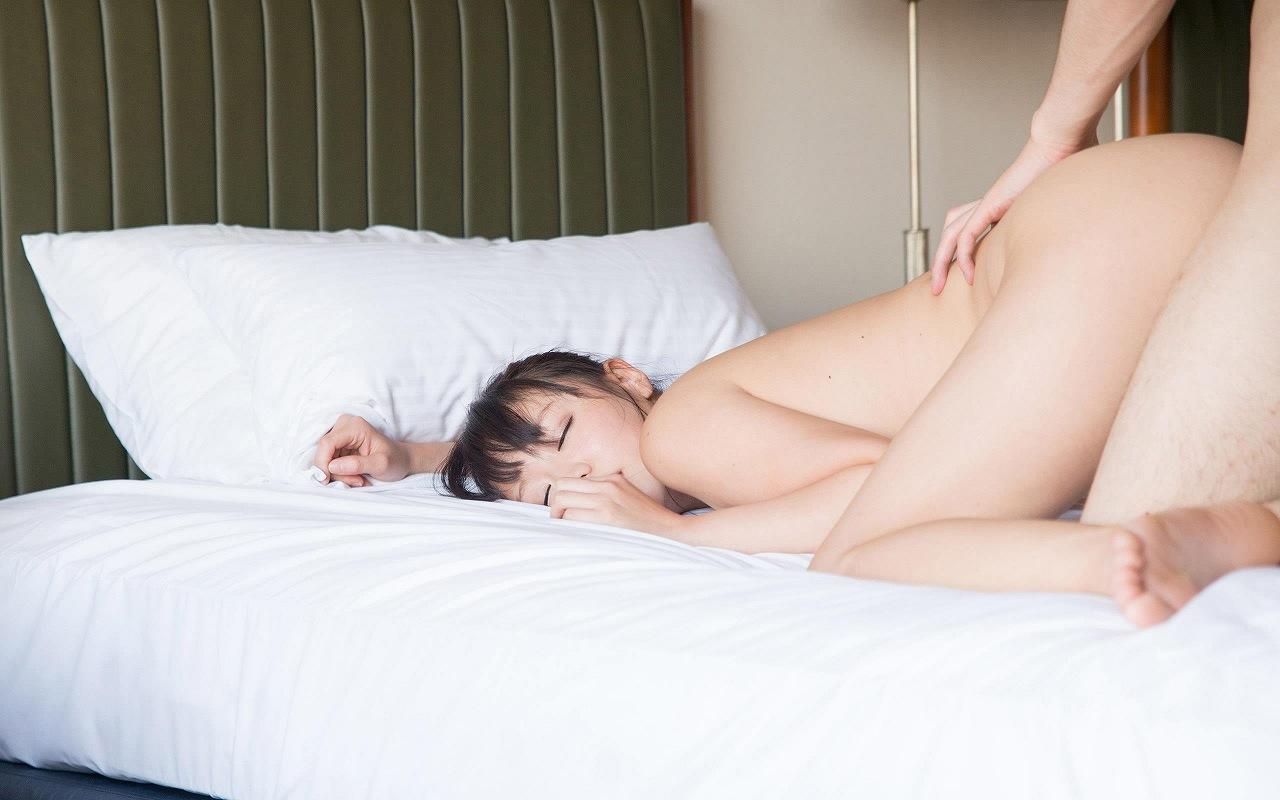 浜崎真緒(はまさきまお) ロリ顔ポニーテール、色白柔らかそうなおっぱいに包まれるセックスAV女優画像 143枚 No.25